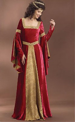 Wedding Gown Styles of the Middle Ages to the 20th Century