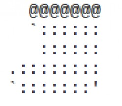 Christmas Stocking in ASCII Text Art
