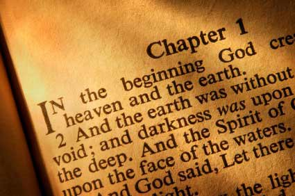 In the beginning He created