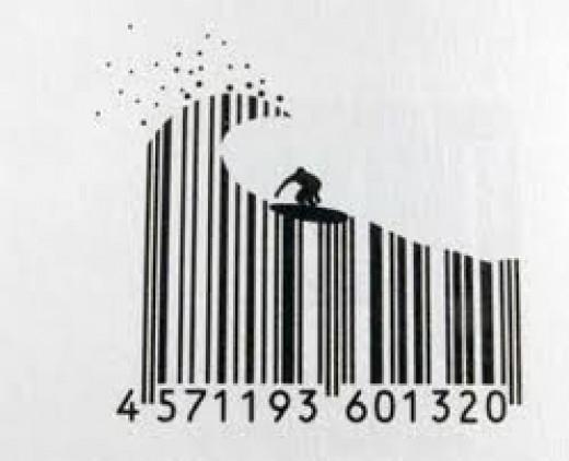 Bar code scanners make shopping easier.