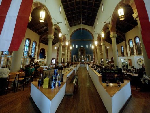 Church converted to restaurant and bar in Pittsburgh