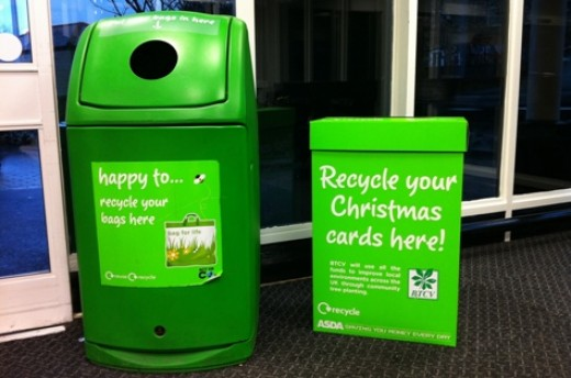 Recycle your Christmas cards everyone!