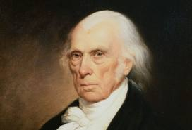 Like other Founding Fathers, though not all, Madison had nothing nice to say about churches and their influence on government.  God might be a separate thing, but politics and religion for Madison did not mix without creating explosions.