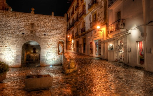 Ibiza Street, Spain