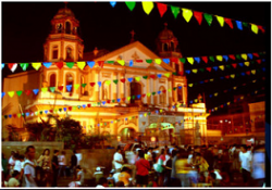 Christmas celebration is made more significant with the Filipino family trooping to the nearby churches to attend Holy Mass.
