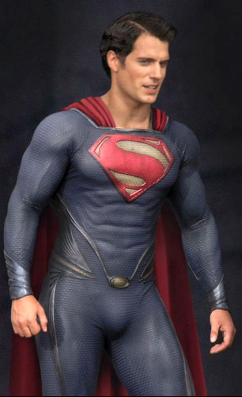 """Henry Cavill as """"The Man of Steel"""""""