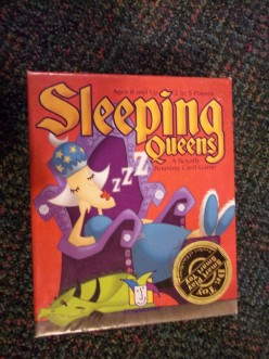 Sleeping Queens, Cards, A Gamewright Game, Rules, Instructions, and Game Review