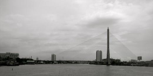 Sites along the boat-ride back to Bangkok
