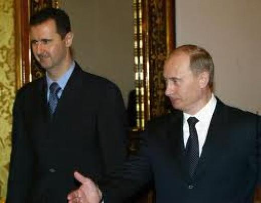 Putin and Assad, Friends ?