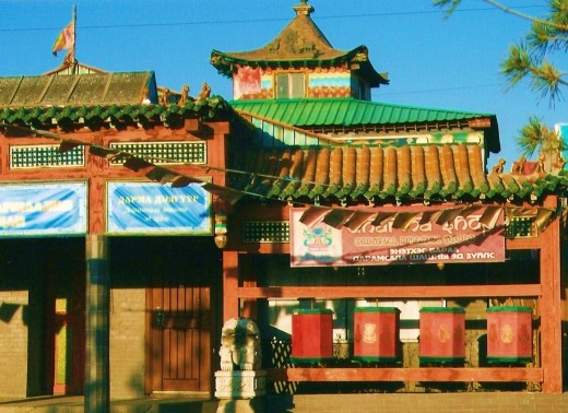 Ikh Khuree Zurkhain Datsan Temple