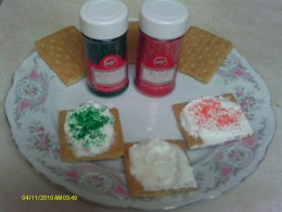 Add a sprinkling of colored sugar for a festive holiday treat.