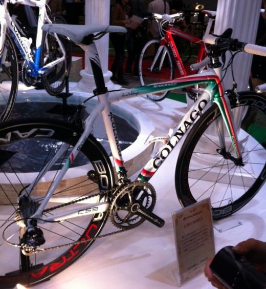A fantastic and rare Colnago C59 in Italian Tricolore colours and made in Italy