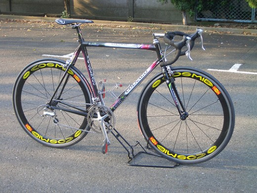 An early example of Italian Carbon Bike Porn- the 1994 Colnago C40.