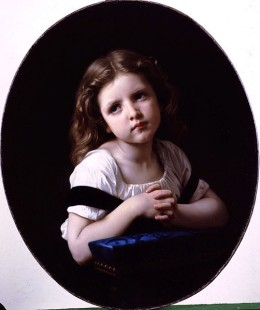 The Prayer by W.A, Bouguereau