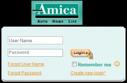 Amica Auto Insurance Login - Manage Account