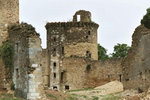 Le château de La Prune.  Photo by Muriel Azmard