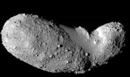 This asteroid maybe a chuck of something else that broke apart in an impact collision.  It is believed it is losely held together which means to deconstruct it it might be necessary to fuse parts in brick like pieces before disgarding from the mass..