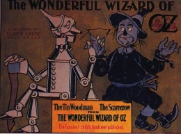 """""""Poster advertising The Wonderful Wizard of Oz, issued by the George M. Hill Company, 1900"""""""