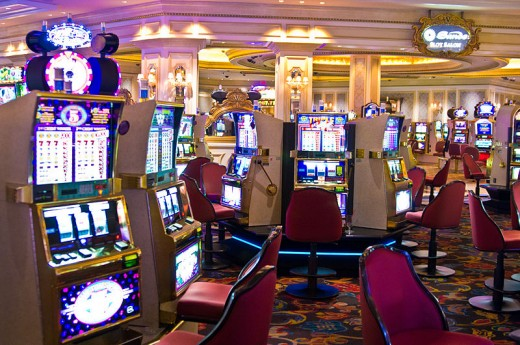 Slot machines in The Venetian Resort-Hotel-Casino