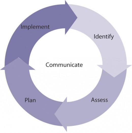 The risk management process
