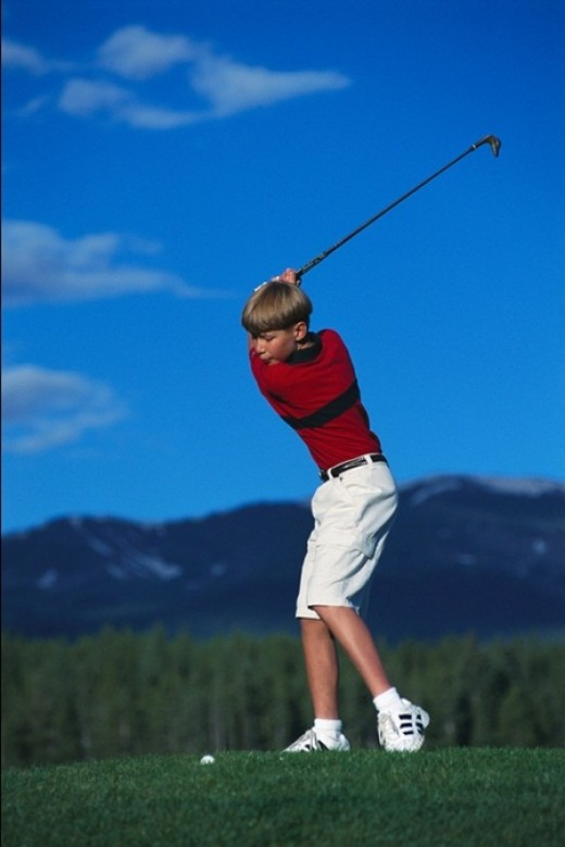 Youth Golfer