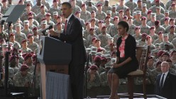 Obama Says War No More