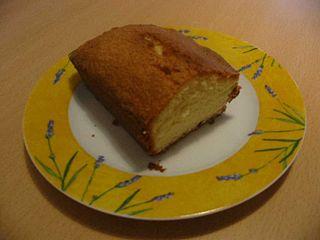 A plain Quatre Quarts, the French equivalent of pound cake
