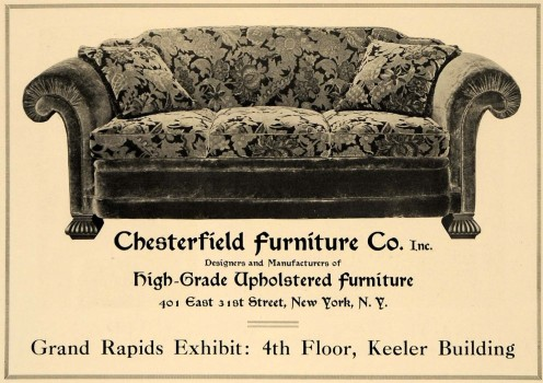 Vitage Chesterfield Advertisements