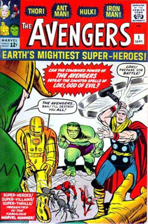 Avengers No. 1 Comic Cover