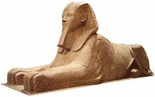Queen Hatshepsut as a sphinx