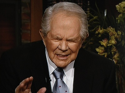 Pat Robertson, famed TV evangelist and professional asshole, claimed that Hurricane Katrina was caused by abortion