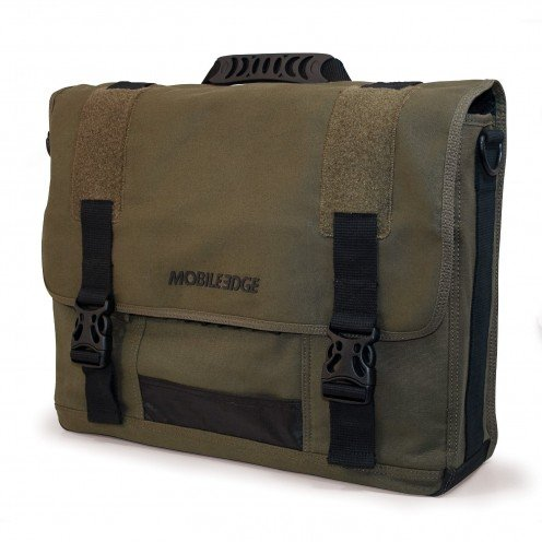 cotton canvas military style  messenger bag