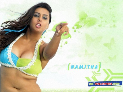 Cleavage Namitha