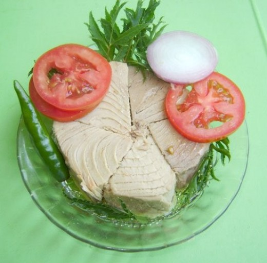 Tuna is an excellent source of omega-3 fatty acids.