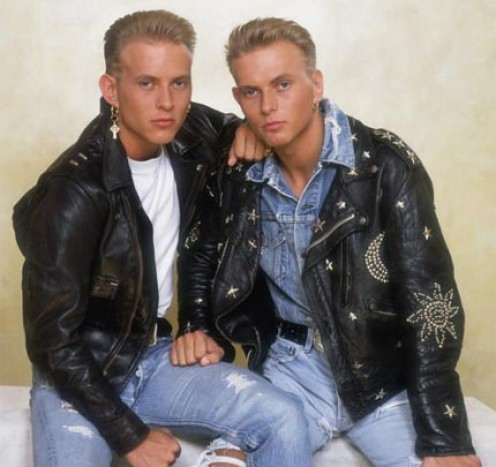 Twin brothers Matt Goss and Luke Goss
