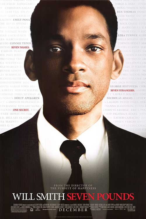 photo credit: movieberry.com .  Will Smith stars in Seven Pounds the movie.