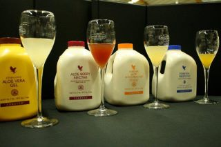 If you want different taste there are Aloe Vera drinks with peach, cranberry or lemon.