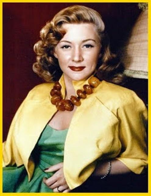1950s sophistication. Gloria Graham