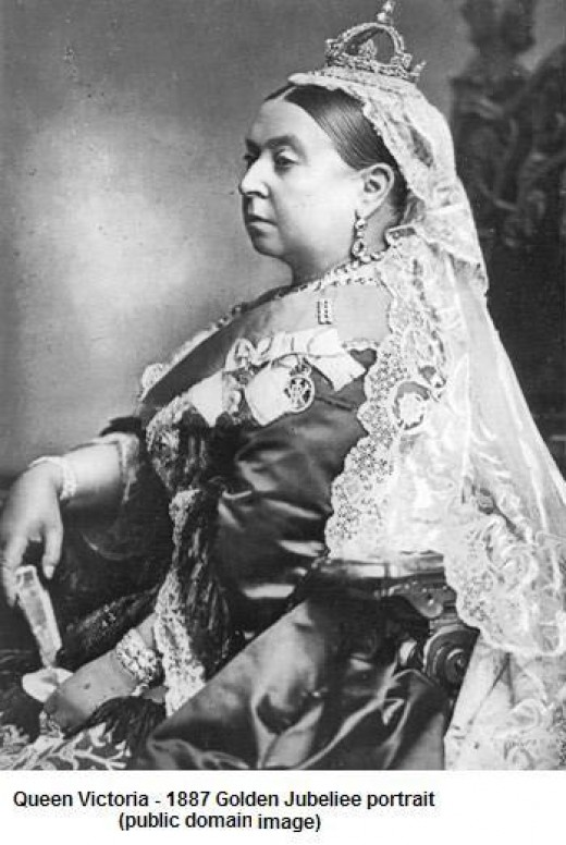 Britain's 19th Century Queen Victoria whose long reign did much to restore/create England's Medieval Traditions