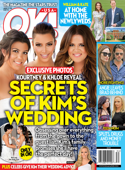 We know how this first chapter of Kim Kardashian's married life  ended. Her siblings and maybe you could learn how to keep secrets by following these 5 easy tips.