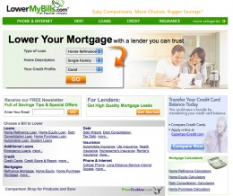 Lowermybills.com is an example of a lead generation company with good offers.