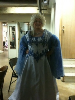 Me, as the Fairy Godmother, 2011