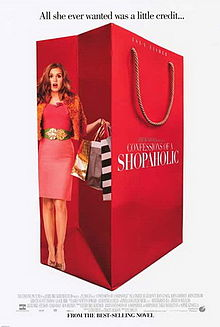 CONFESSIONS OF A SHOPAHOLIC MOVIE REVIEW (photo: Confessions of a Shopaholic movie poster)