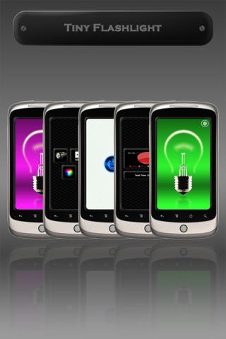 Flashlight Application for Mobile Phone