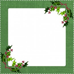 This digital frame fits the Christmas theme.