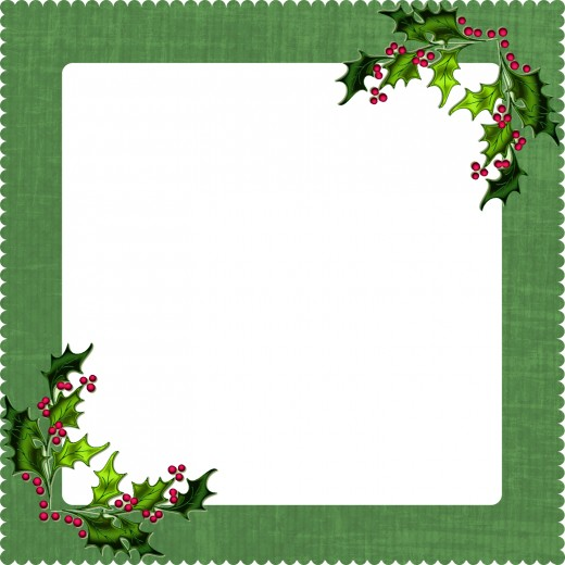 This digital frame fits the Christmas theme.