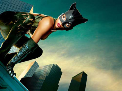 Catwoman Deluxe Adult Costume Includes Black leatherlike pants with faux ...