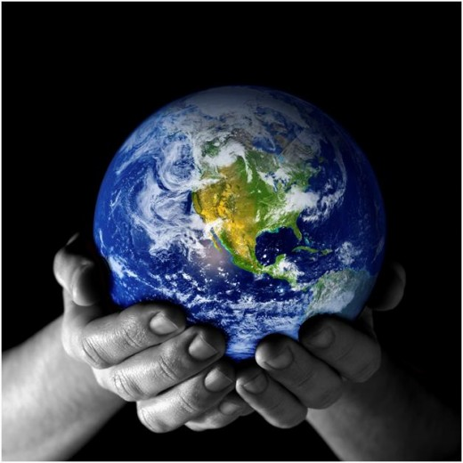 Saving the World is in your own hands!!
