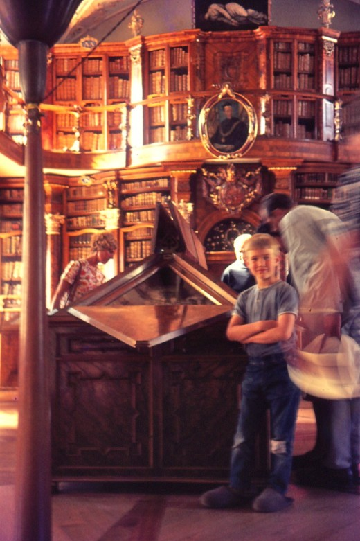 Enjoying the Amazing Chained Library in St. Gallen, Switzerland