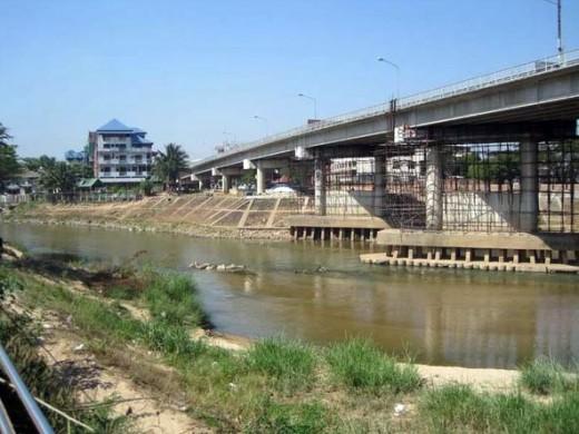 Friendship Bridge -  one of the few major border crossings between Thailand and Myanmar.
